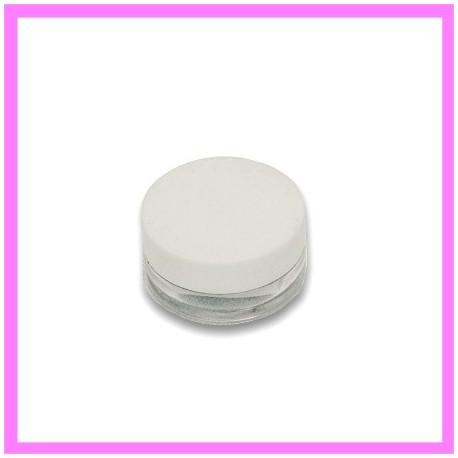 Pot Cosmétique Plastique 05 ml bouchon blanc