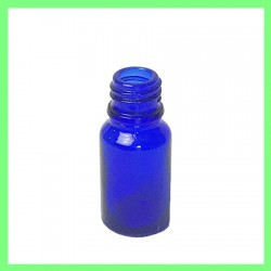 10ml flacon bleu nu