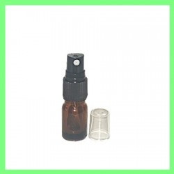 Flacon 5ml brun + vapo noir