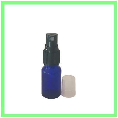 Flacon 10ml Bleu + Vapo Noir