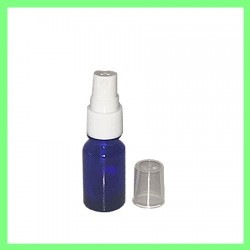 Flacon 10ml Bleu + Vapo blanc