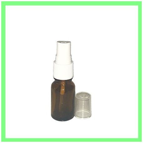 Flacon 15ml Brun + Vapo Blanc