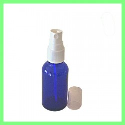 Flacon 30ml Bleu + Vapo Blanc