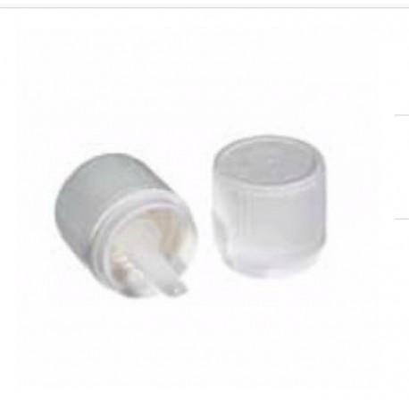 Bouchon blanc plastique DIN18