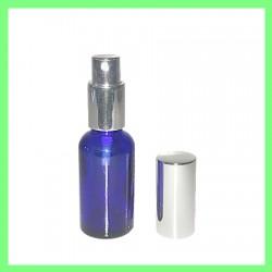 Flacon 30ml Bleu + Vapo Argenté