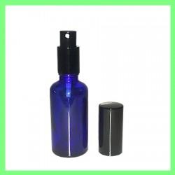 Flacon 50ml Bleu + Vapo Noir