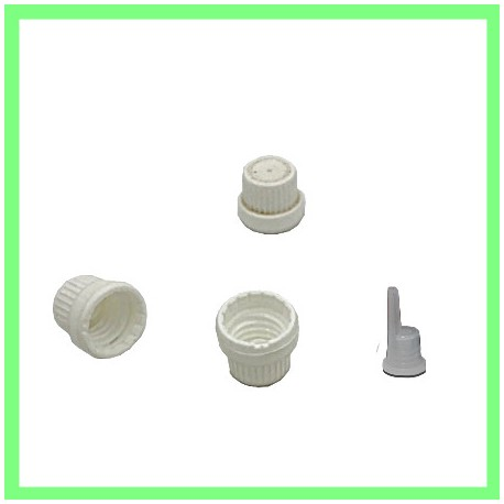 Bouchon blanc plastique