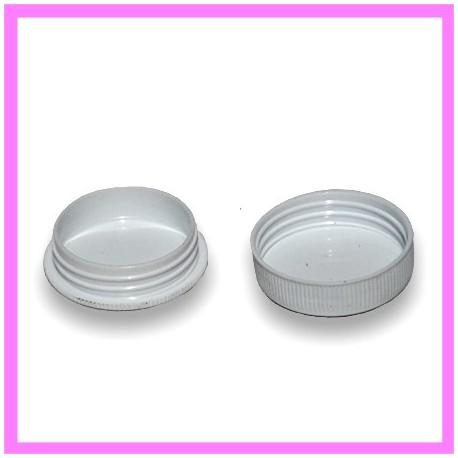 Pot plastique Couleur Blanc 11g