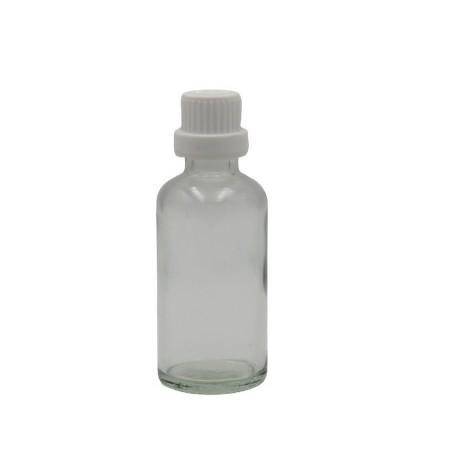 50ml flacon transparent